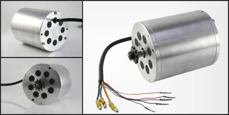 ersatzteil elektro scooter 60v b rstenlos motor f r tuning. Black Bedroom Furniture Sets. Home Design Ideas